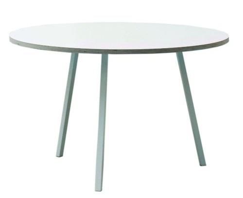 HAY Loop stand round tafel-� 120 cm-Wit