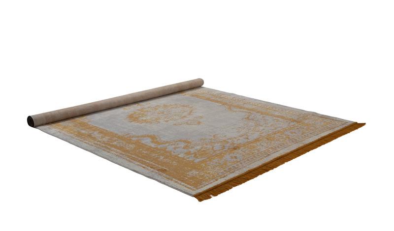 Zuiver Marvel Karpet Butter vloerkleed-Mosterd-200x300 cm