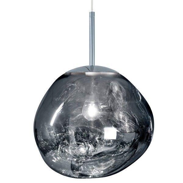 Tom Dixon Melt Mini hanglamp-Chroom