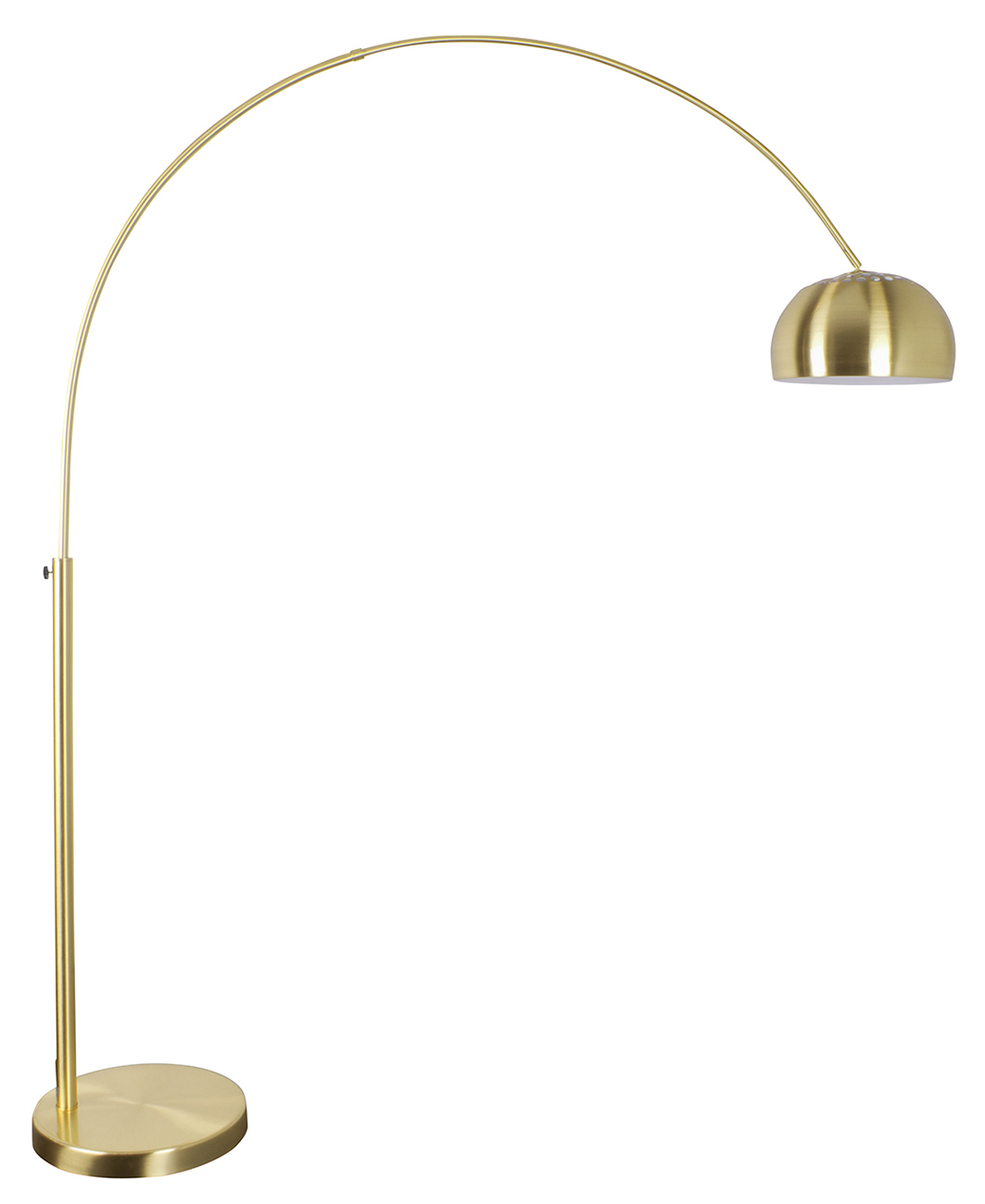 Zuiver Metal Bow Brass booglamp