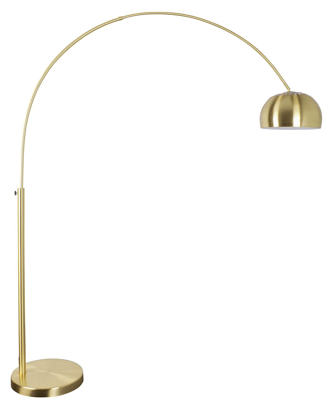 Zuiver Metal Bow Brass booglamp