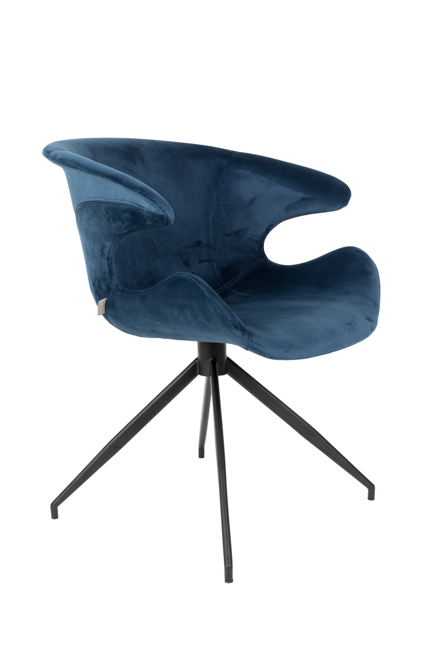 Zuiver Mia stoel-Blauw