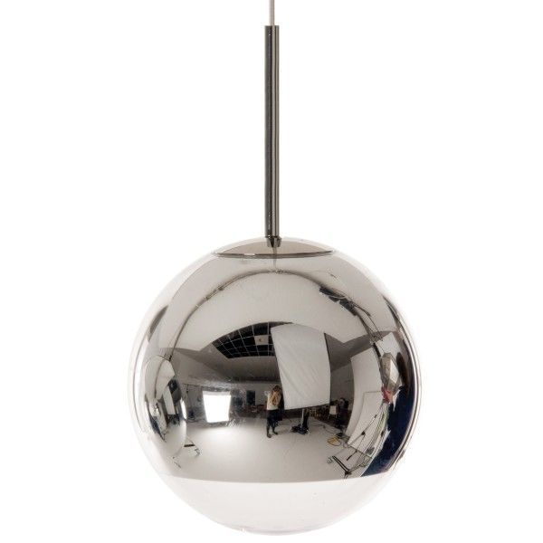 Tom Dixon Mirrow Ball 25 cm hanglamp-Chroom