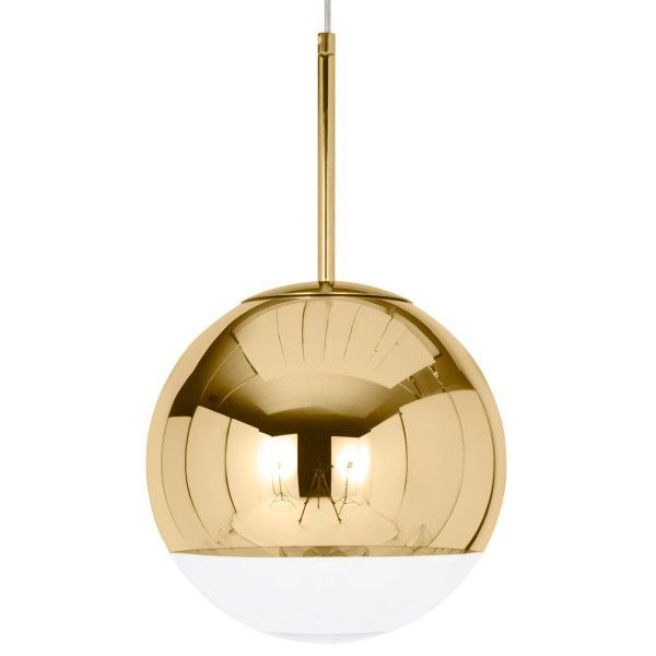 Tom Dixon Mirror Ball 25 cm hanglamp-Goud