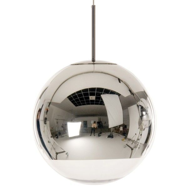 Tom Dixon Mirror Ball 40 cm hanglamp-Chroom