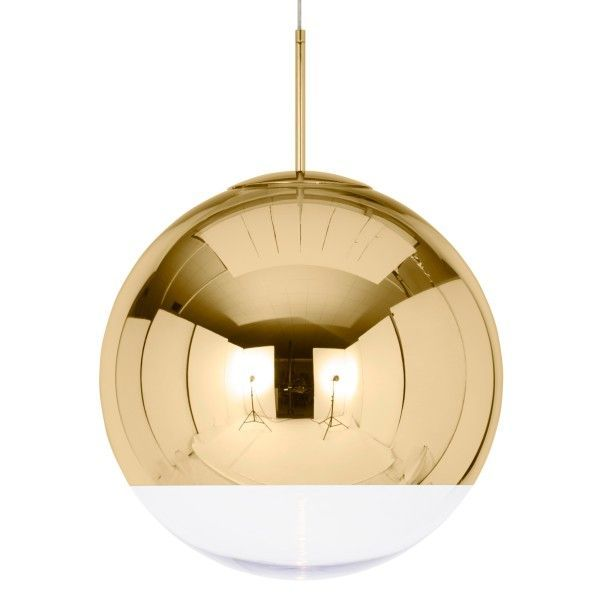 Tom Dixon Mirror Ball 50 cm-Goud