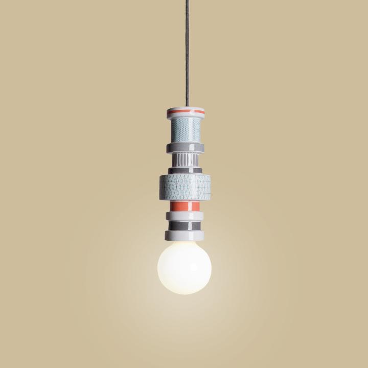 Seletti Moresque Hanging lamp-Turnot