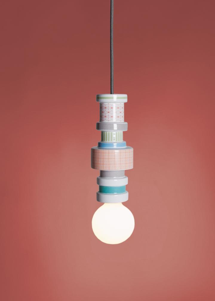Seletti Moresque Hanging lamp-Squares