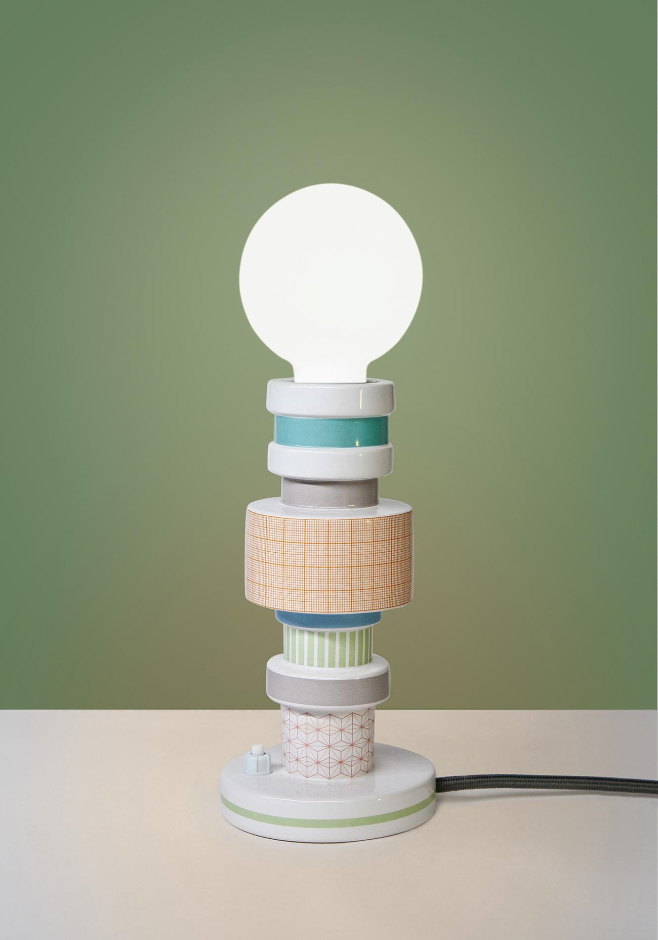 Seletti Moresque Table lamp-Squared