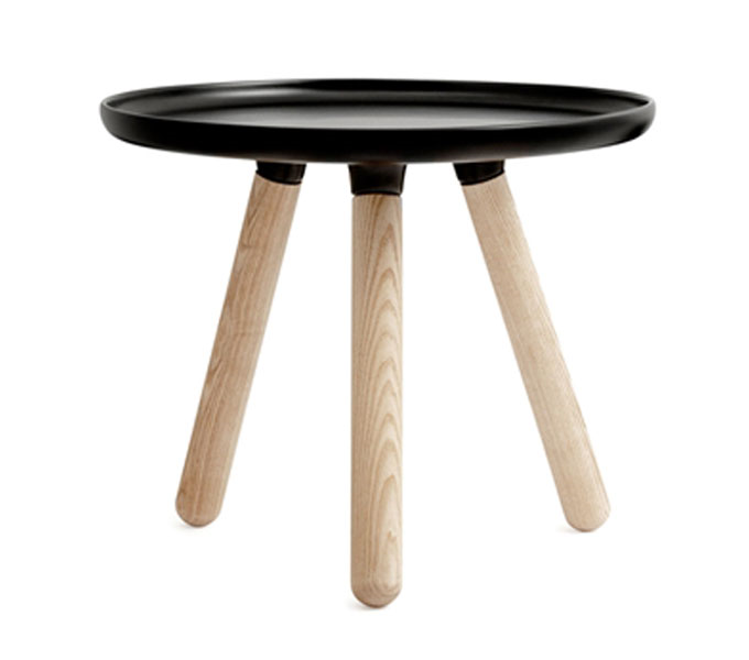 normann copenhagen tablo table small tafel zwart. Black Bedroom Furniture Sets. Home Design Ideas