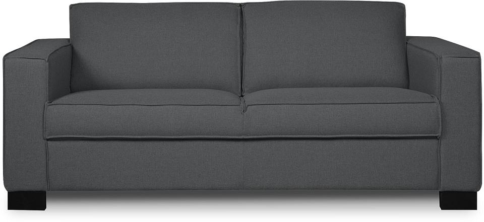 i-Sofa Nova 2,5-zits bank-Donker grijs
