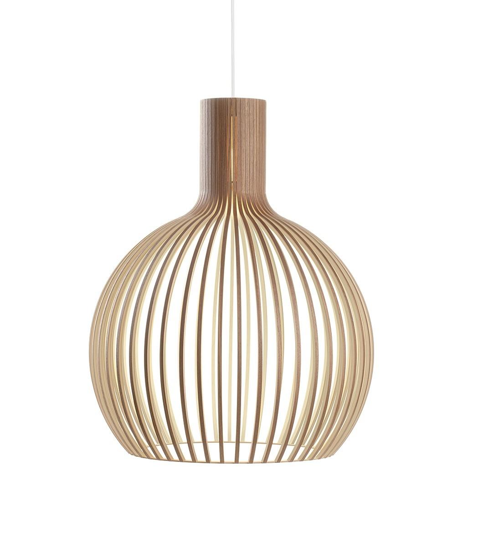 Secto Design Octo 4240 hanglamp-Walnoot