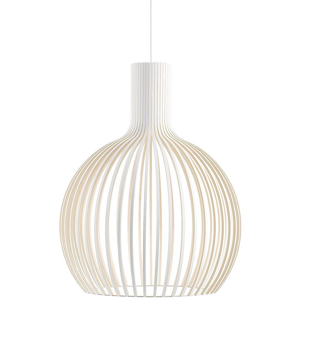 Secto Design Octo 4240 hanglamp-Wit