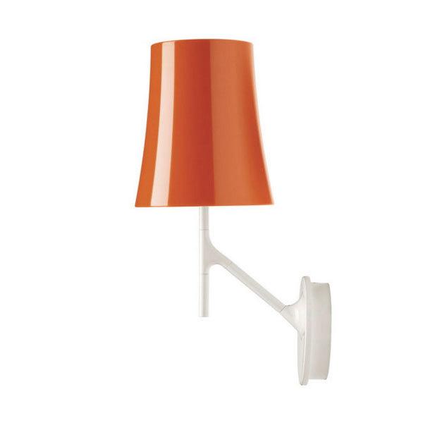 Foscarini Birdie wandlamp met dimmer-Oranje