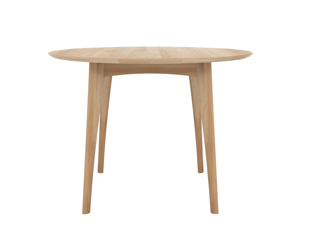 Ethnicraft Osso Round Table High tafel-Natural