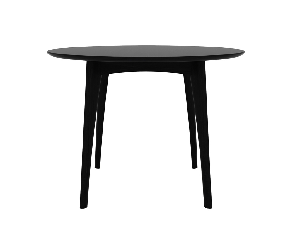 Ethnicraft Osso Round Table High tafel-Zwart