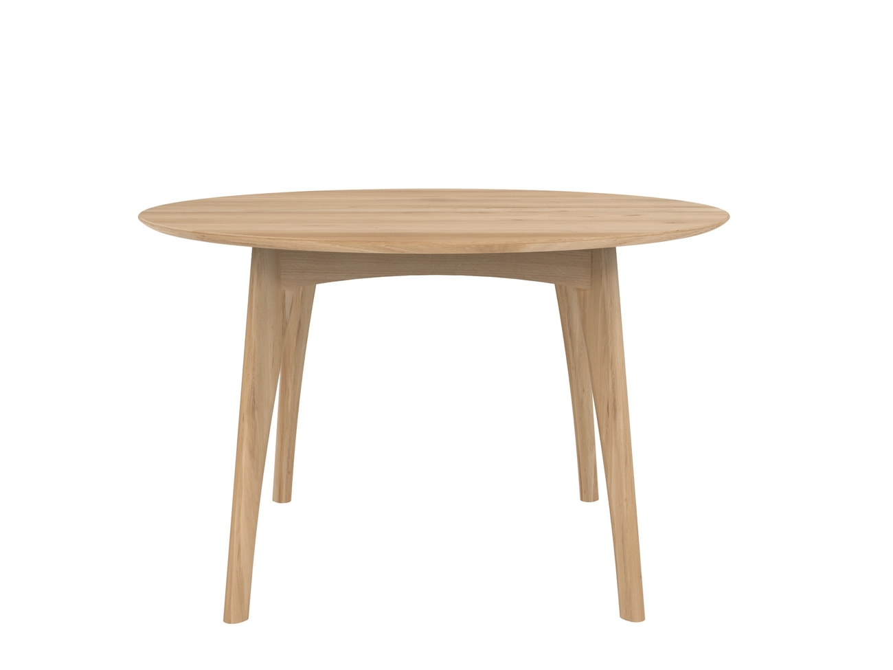 Ethnicraft Osso Round Dining Table eetkamertafel-Natural