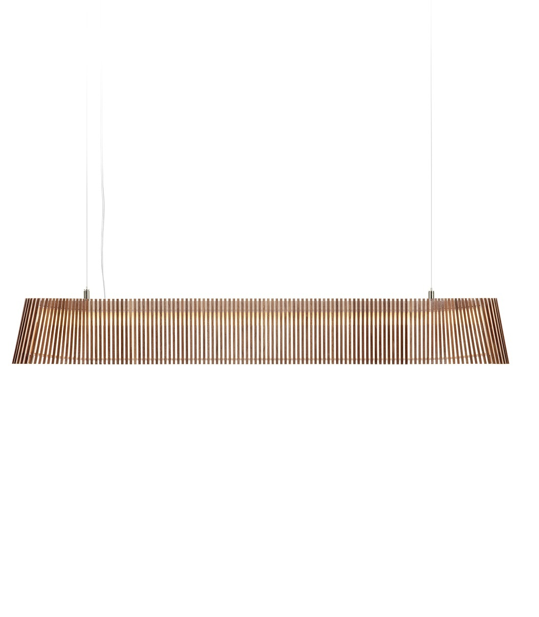 Secto Design Owalo 7000 hanglamp-Walnoot
