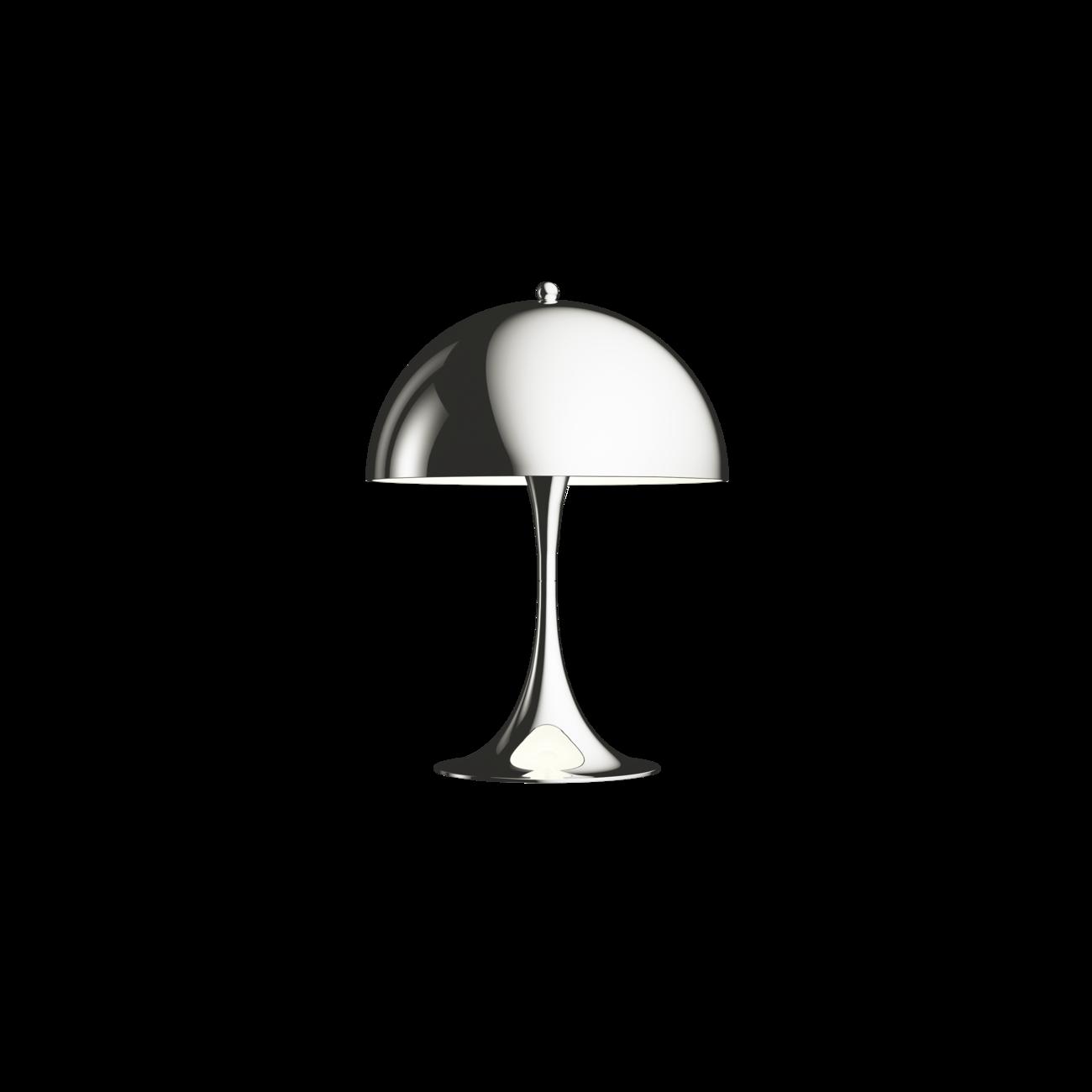 Louis Poulsen Panthella Mini tafellamp Hooggl verchroomd