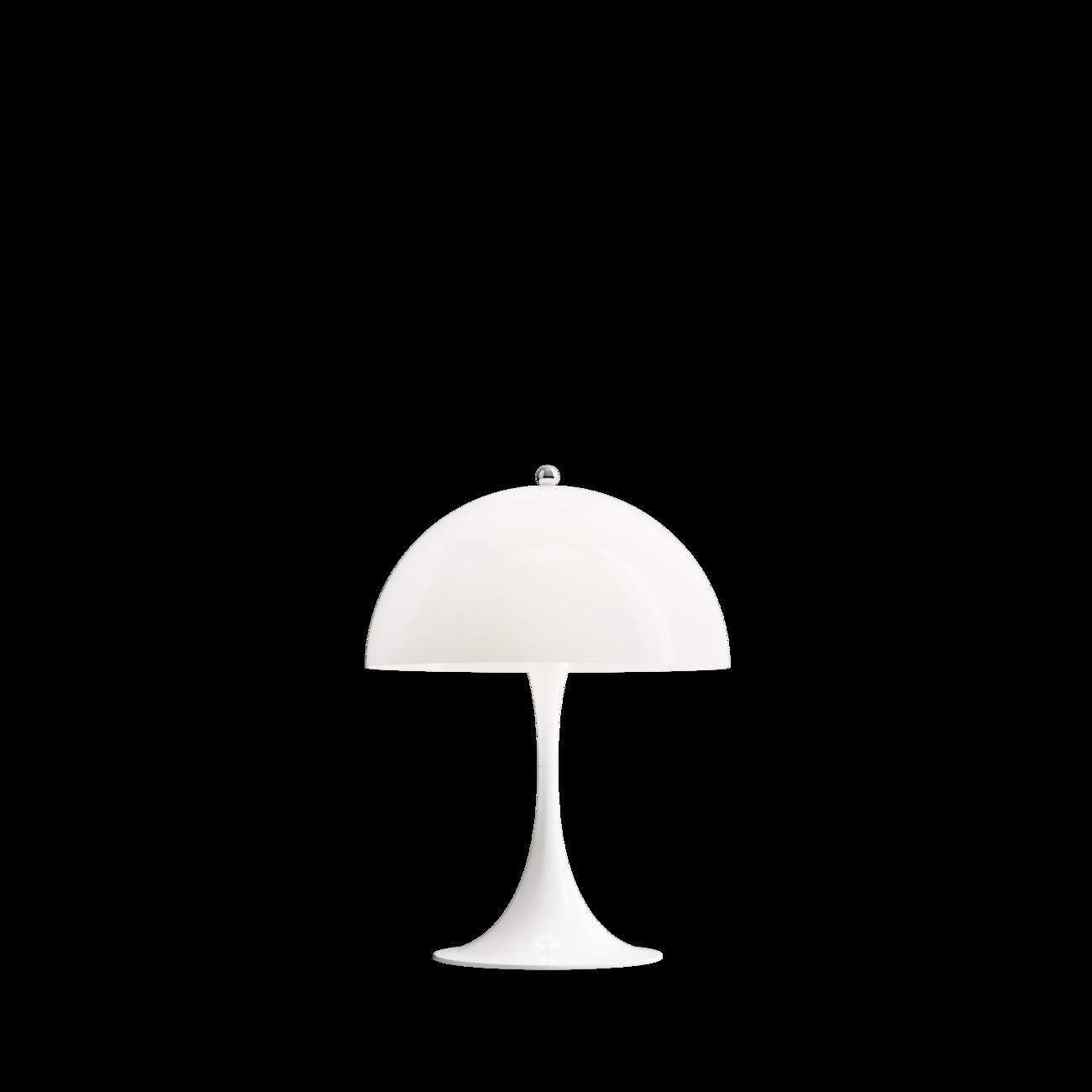 Louis Poulsen Panthella Mini tafellamp Wit opaal acryl
