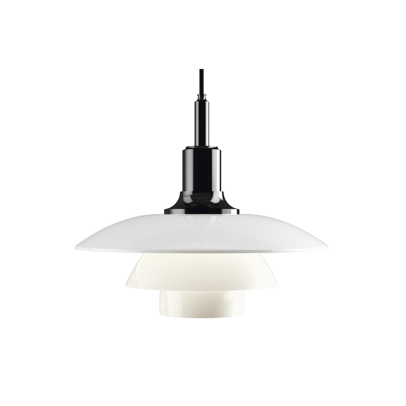 Louis Poulsen 3 1/2 - 3 Glas Hanglamp-Zwart