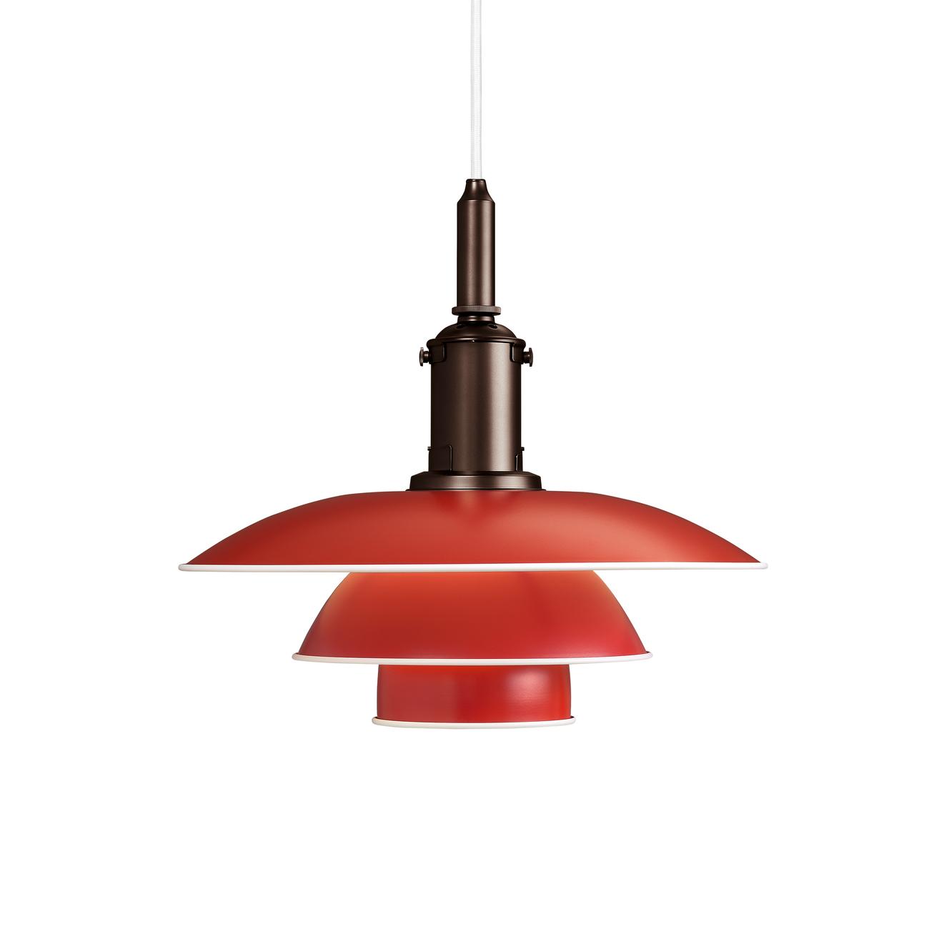Louis Poulsen 3 1/2 - 3 Hanglamp-Rood
