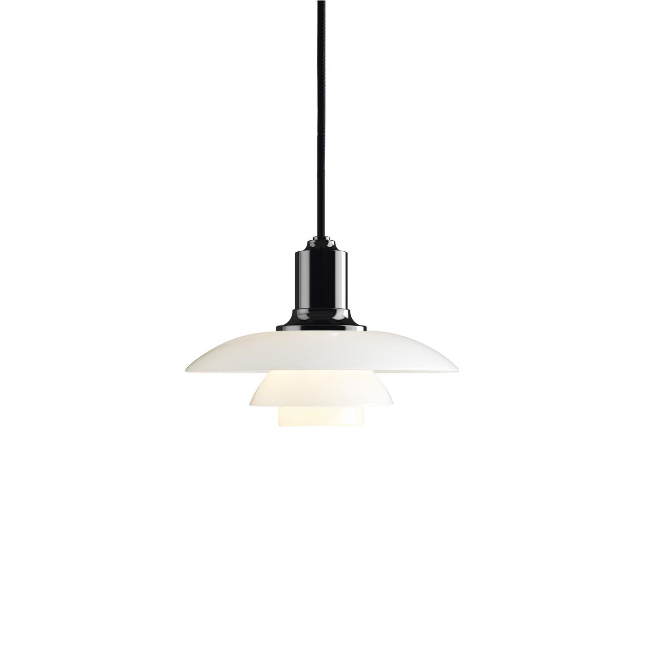 Louis Poulsen PH 2/1 Hanglamp-Zwart