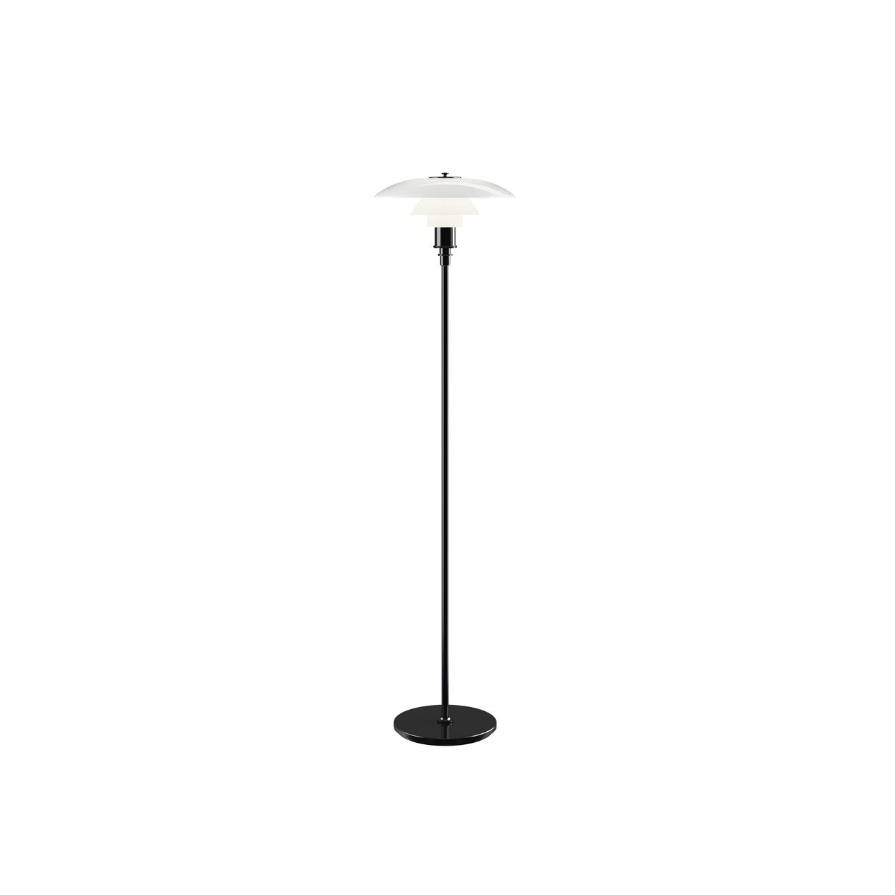 Louis Poulsen PH 3 1/2 - 2 1/2 vloerlamp-Zwart