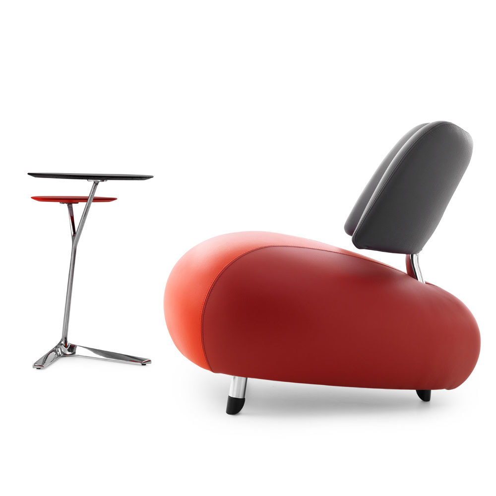 Leolux Pallone Paradise fauteuil-Red Cardinal