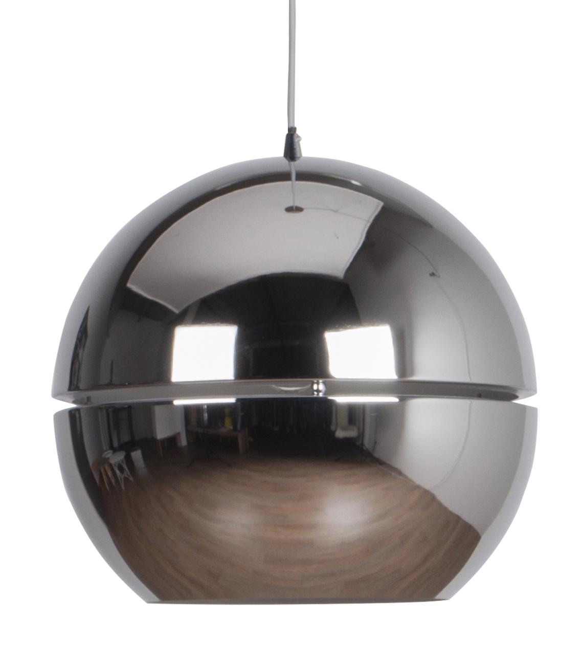 Zuiver Retro 70 hanglamp-Chroom-ø 40 cm
