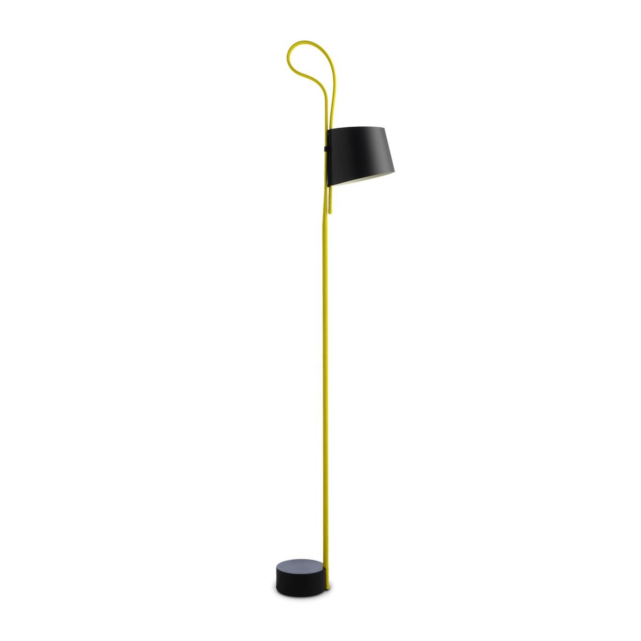 HAY Rope Trick LED vloerlamp-Geel