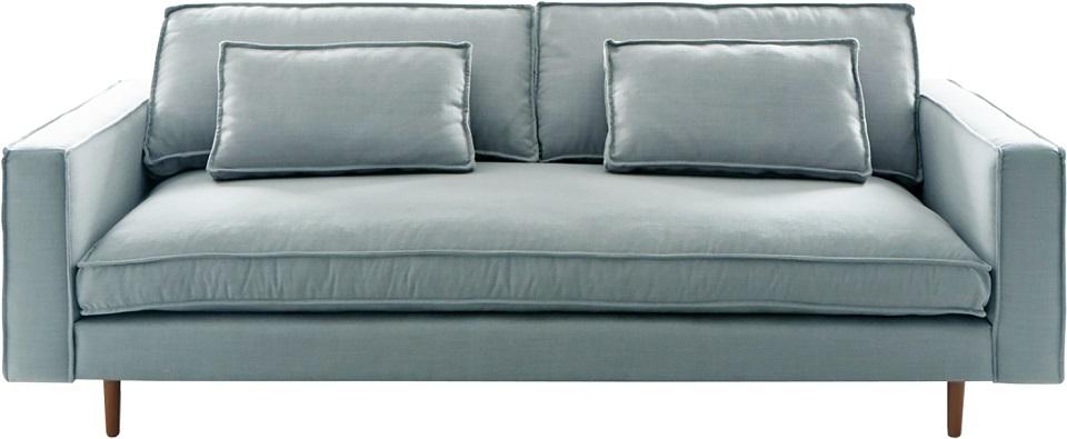 i-Sofa Sara 3-zits bank-Licht blauw