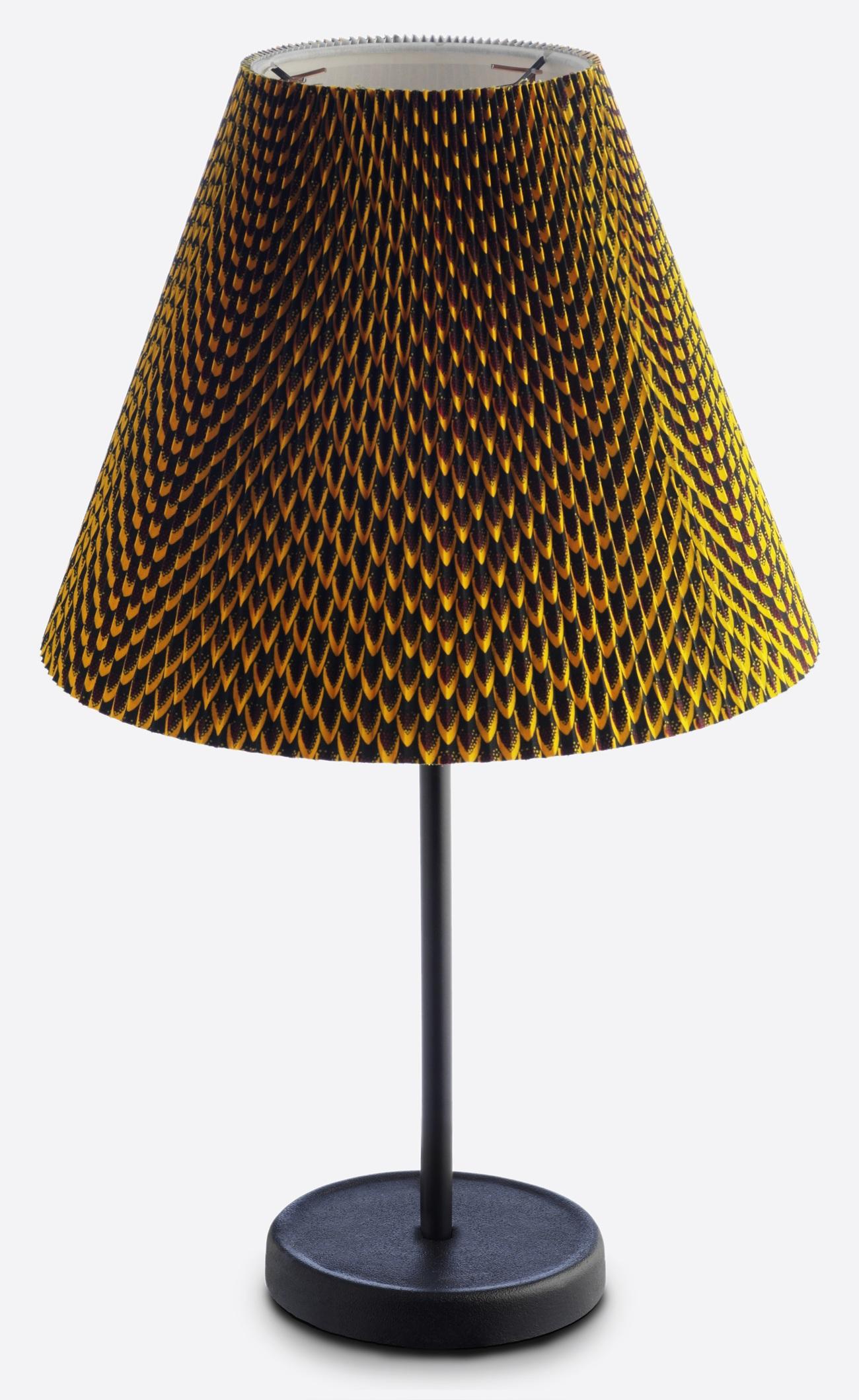 Hay Accordion Shade tafellamp-Mosterd