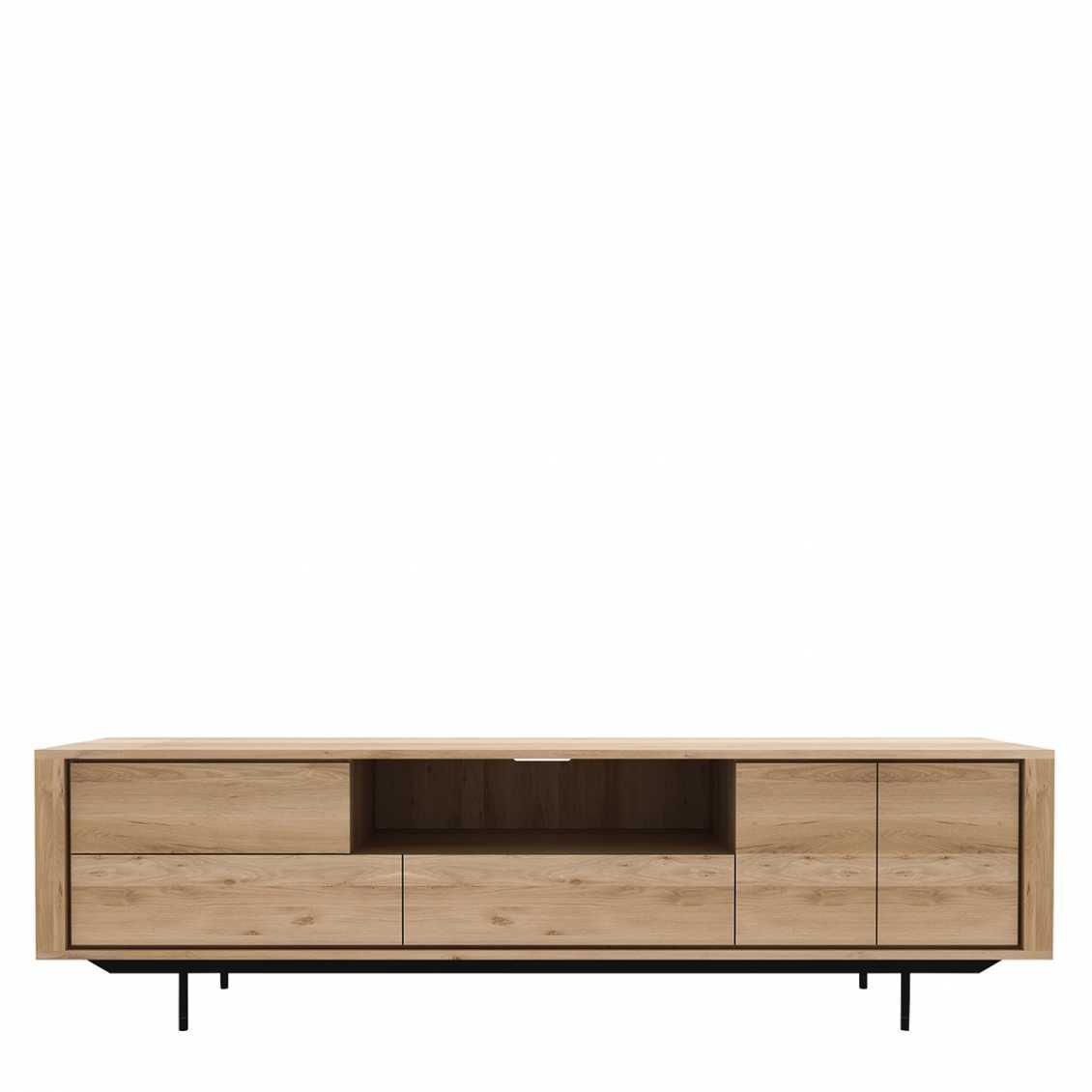 Ethnicraft Oak Shadow tv meubel 2 deurs