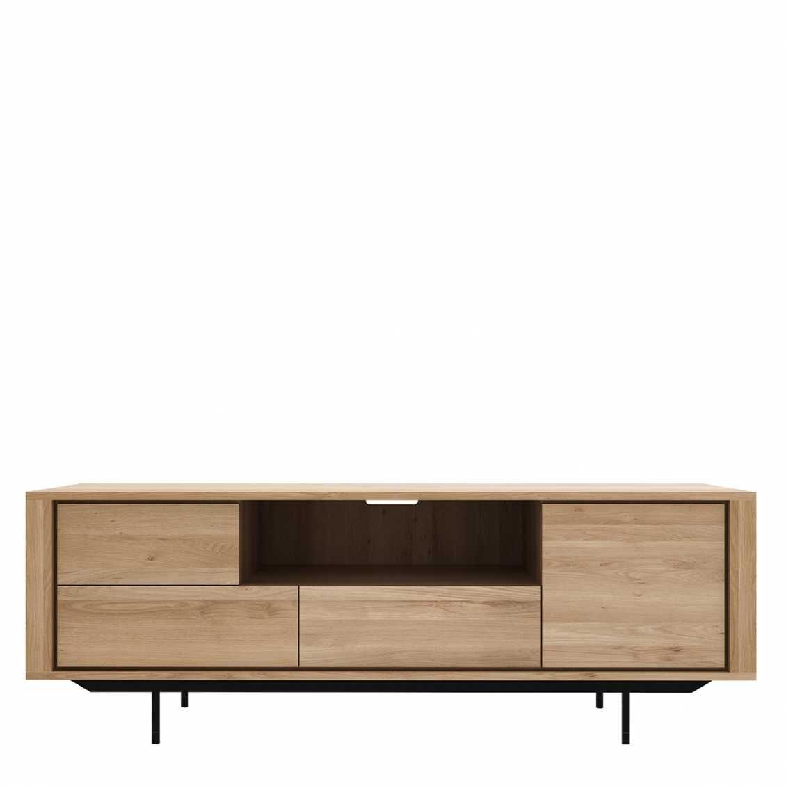 Ethnicraft Oak Shadow tv meubel 1 deurs