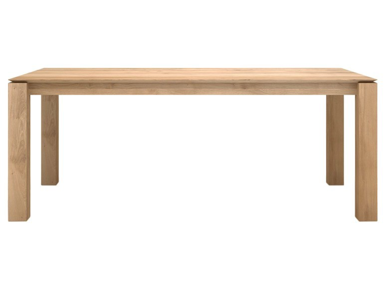 Ethnicraft Slice Dining Table eiken tafel-180x90 cm
