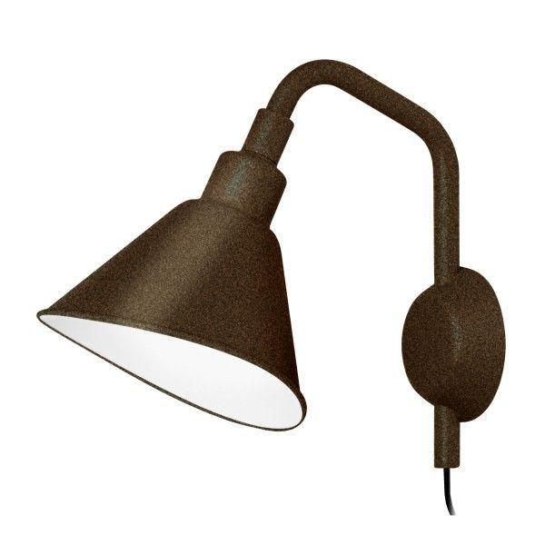 Diesel with Foscarini Smash met stekker wandlamp-Zwart-Piccola