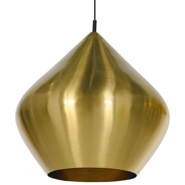 Tom Dixon Beat Light Stout hanglamp-Messing