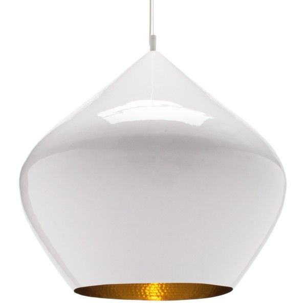 Tom Dixon Beat Light Stout hanglamp-Wit