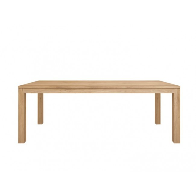 Ethnicraft Straight Dining Table tafel-180x90 cm