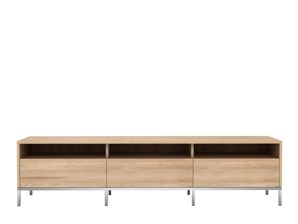 Ethnicraft Ligna Oak tv-dressoir-3x lade