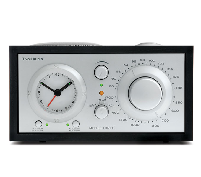 Tivoli Audio Three BT-Zwart