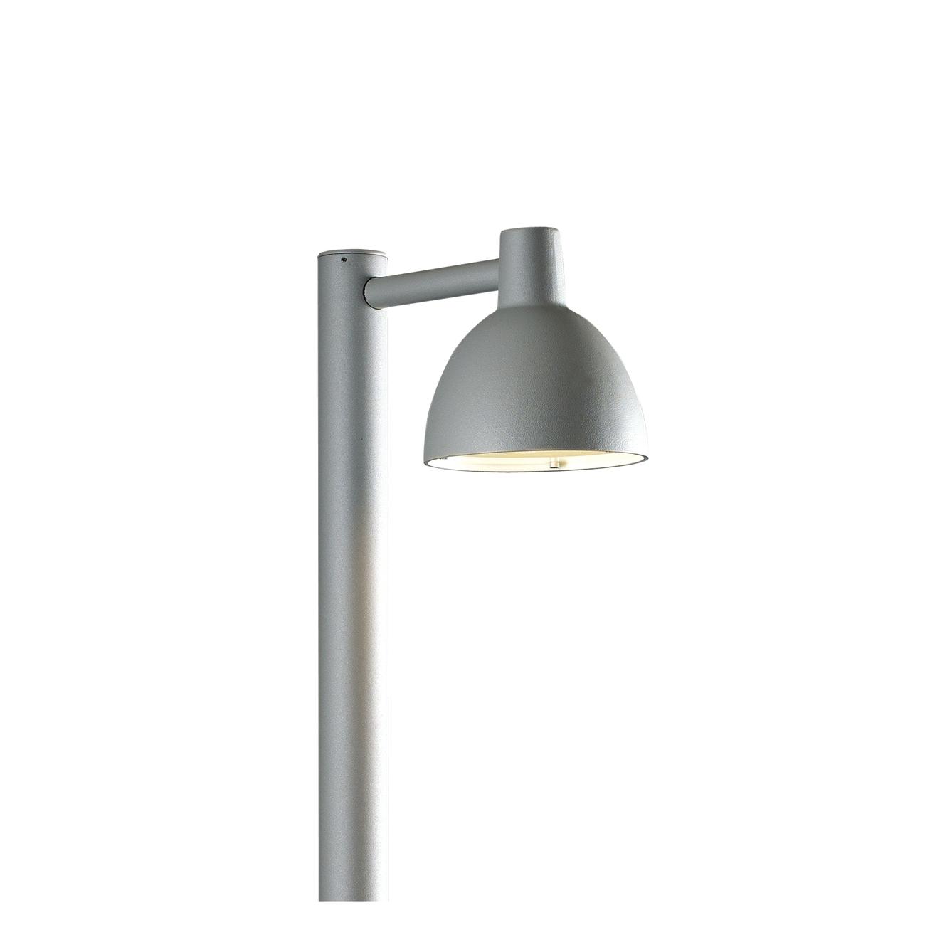 Louis Poulsen Toldbod 155 Bollard Outdoor vloerlamp-Grijs