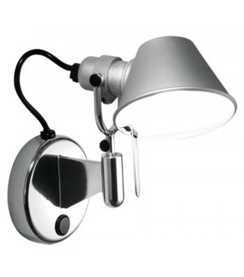 Artemide Tolomeo Micro Faretto wandlamp-Met schakelaar