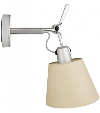 Artemide Tolomeo Parete diffuser wandlamp-Perkament-Kap � 18 cm