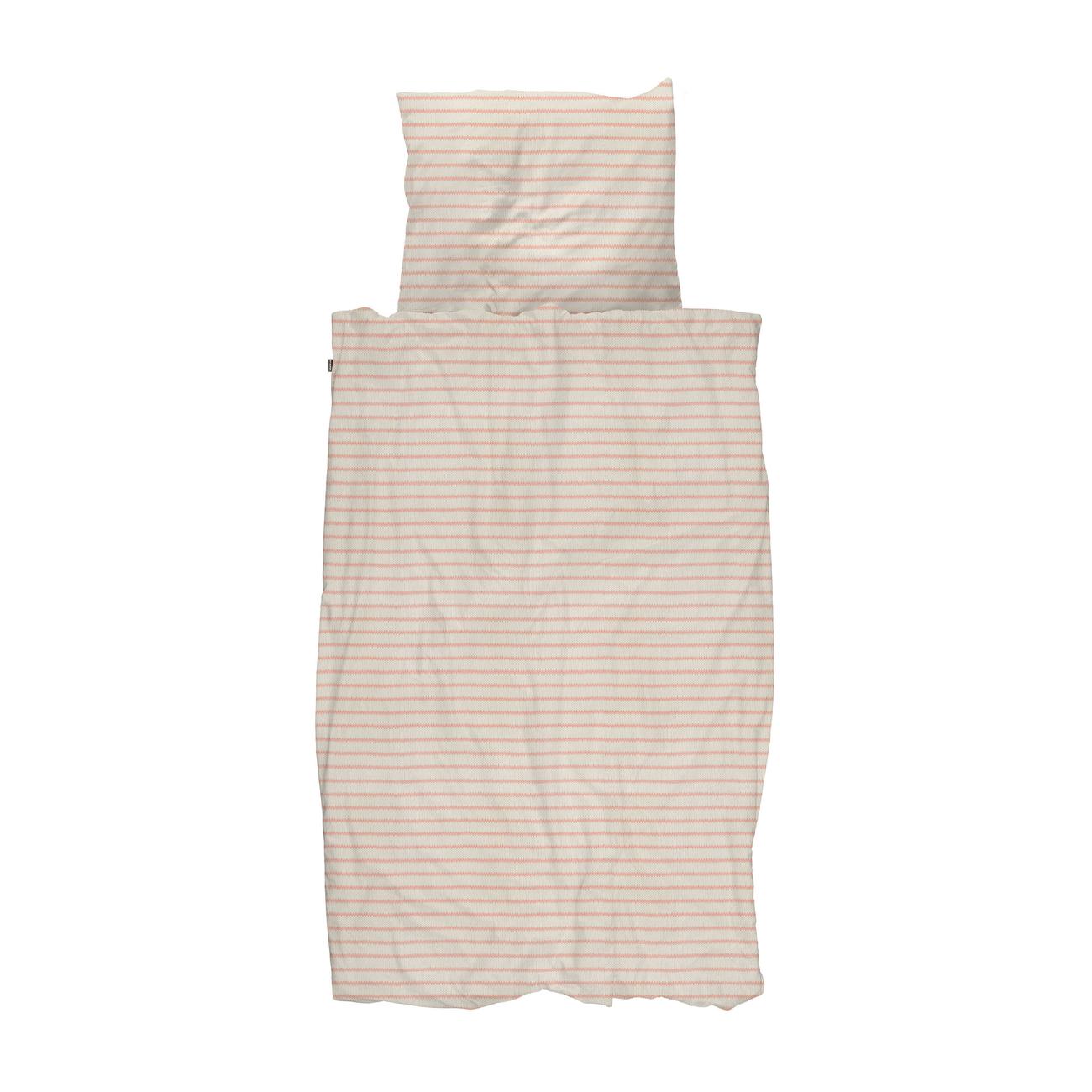 Snurk Breton Pink dekbedovertrek 140x200 220 cm
