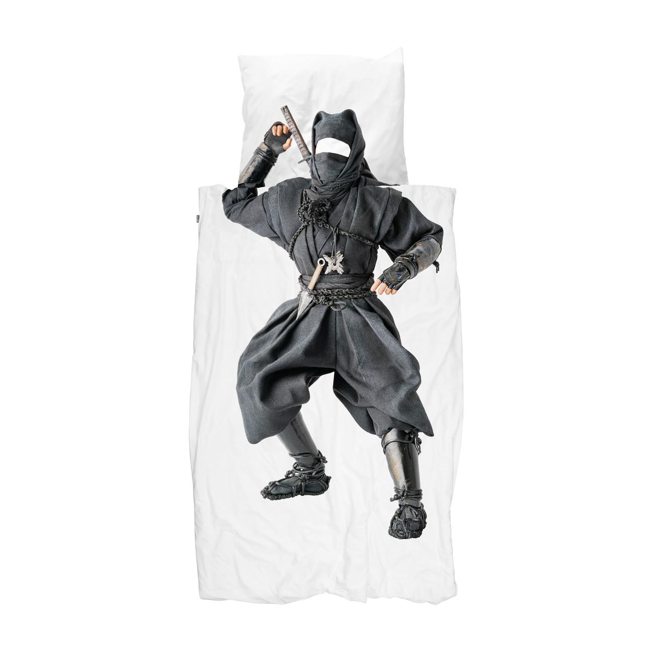 Snurk Ninja dekbedovertrek 200x200 220 cm
