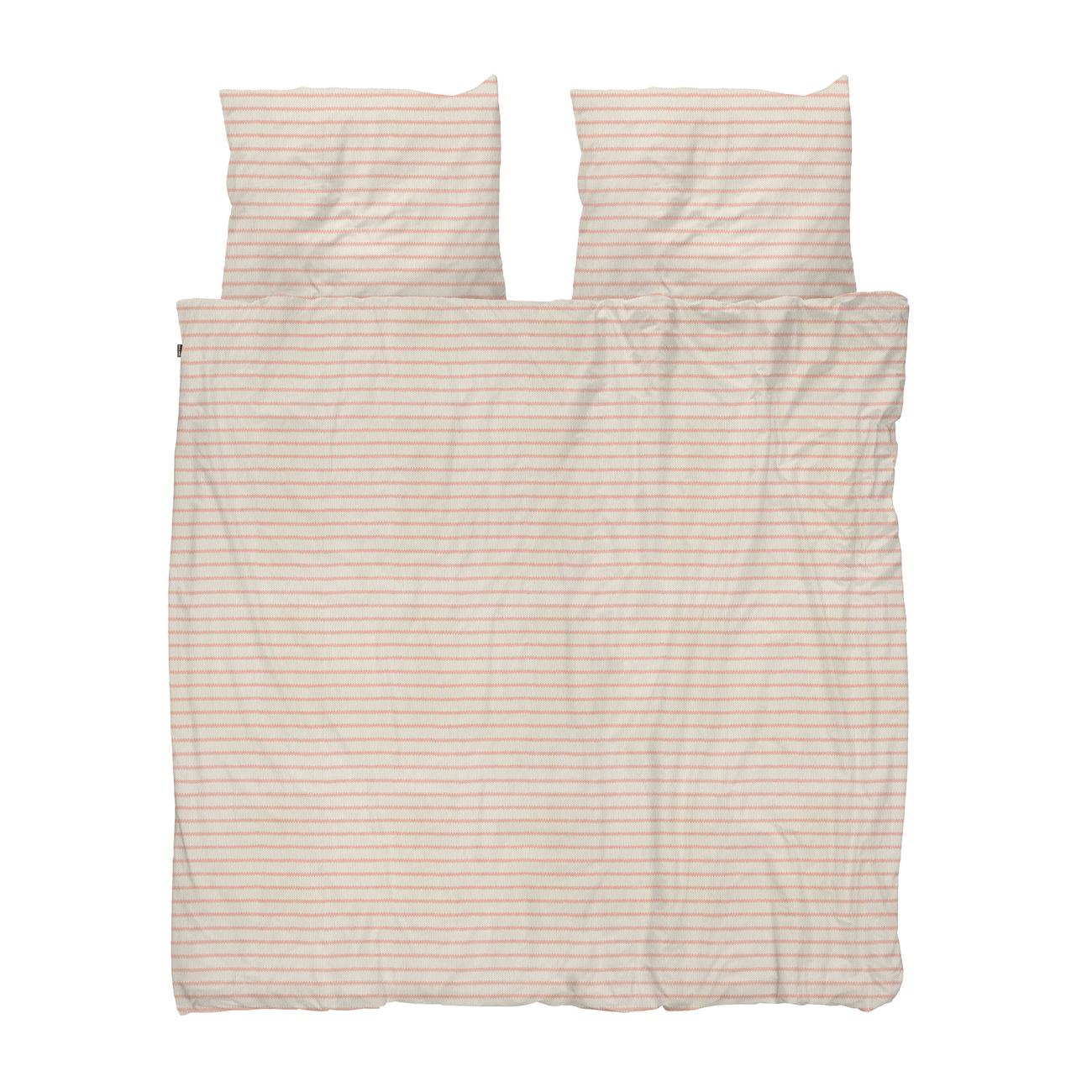Snurk Breton Pink dekbedovertrek 240x200 220 cm