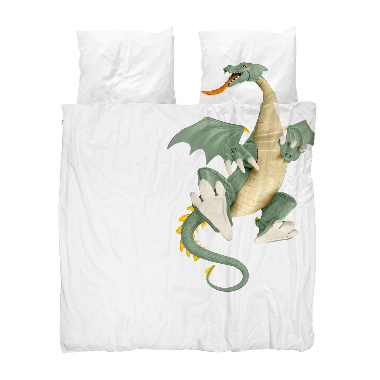 Snurk Dragon dekbedovertrek 240x200 220 cm