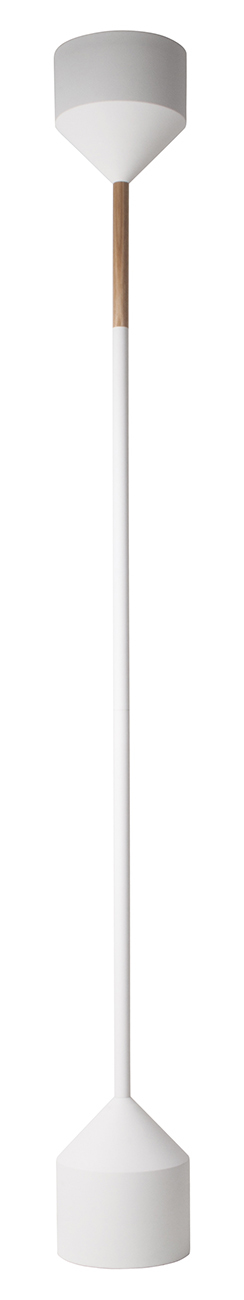 Zuiver Torch vloerlamp-Wit